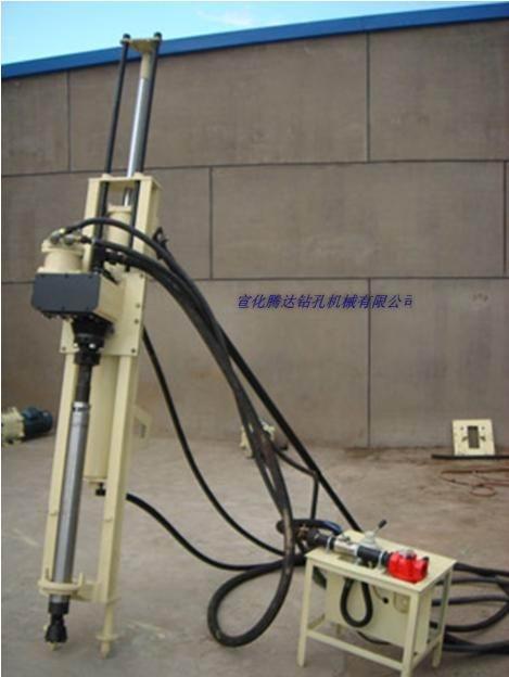 QZJ100B潜孔钻机支架式低风压潜孔钻机