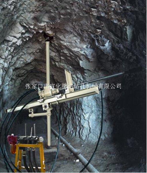 江苏徐州铁矿爆破潜孔钻机QZJ100B-J改装潜孔钻机