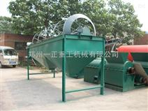 河南新郑生物肥1.2米乘4米滚筒筛分机滚筒内无杨尘,筛分效果就是中