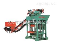 QTJ4-40型砌块成型机的常用模具及产量